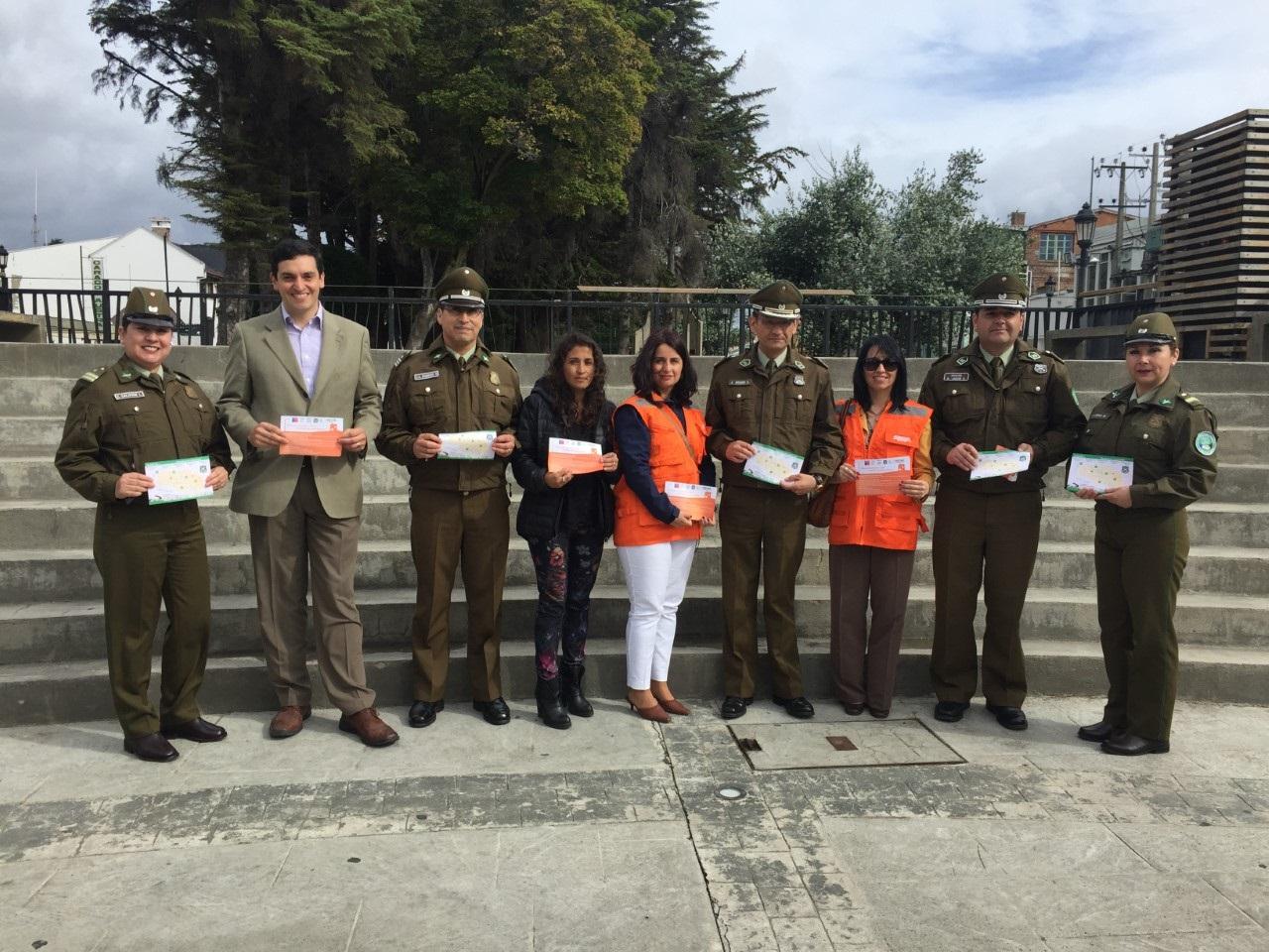 Folleto con recomendaciones de seguridad se repartirán a todos los domicilios de Punta Arenas